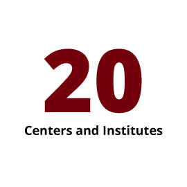 Infographic: 20 Centers and Institutes