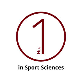 infographic: No. 1 in Sports Sciences